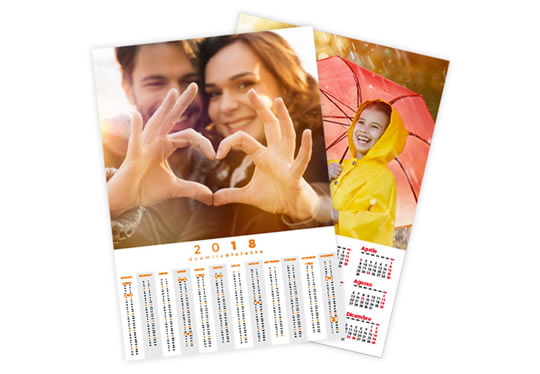 stampa Calendrier Poster A3 (42x29,7 cm.)