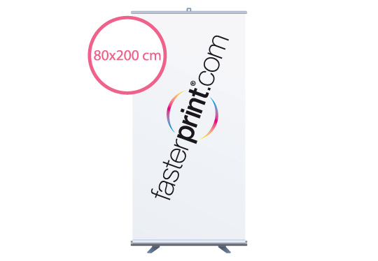 stampa Roll-Up Ecoroll 80x200 Cm.