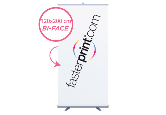 stampa Roll-Up Ecoroll Rollerbi 120 Cm.